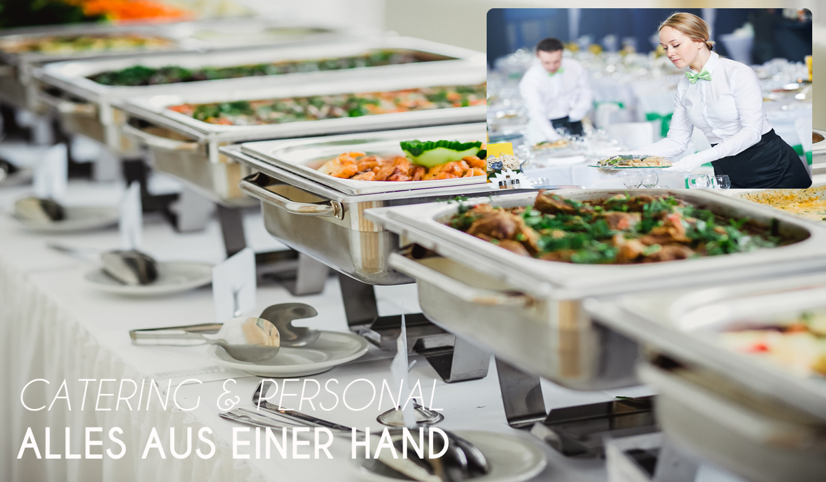 Catering und Personal